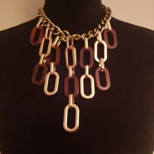 Vintage Flair Chunky Necklace